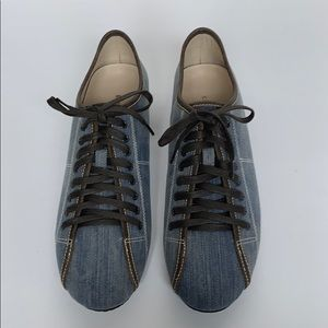 KENNETH COLE NY Vegan Denim Sneakers